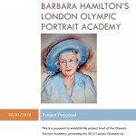 BARBARA HAMILTON'S London Olympic PORTRAIT Academy
